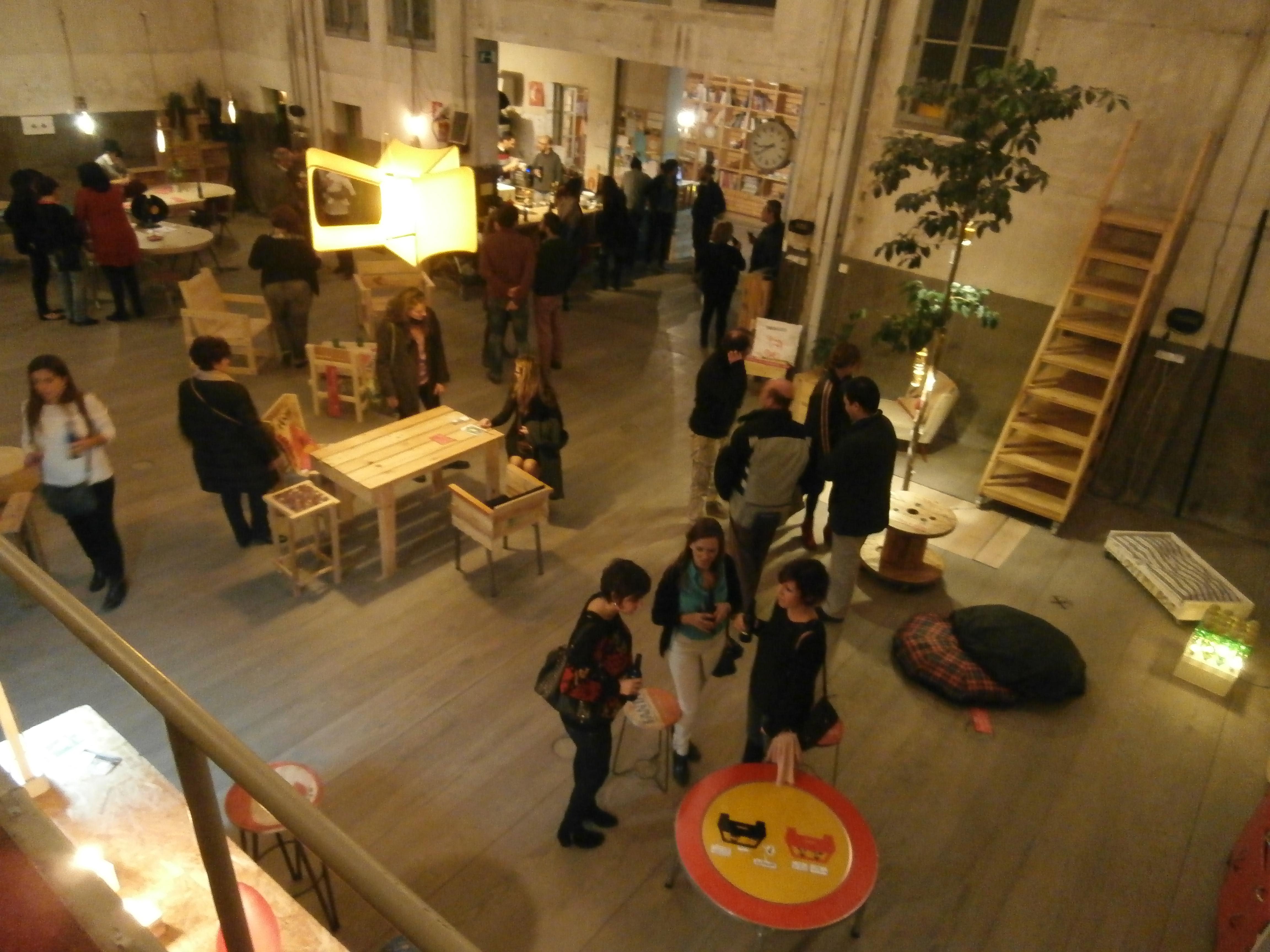 Muebles Reciclados Venta Eco Deco Mobiliario Mesa Ratona Hierro  # Muebles Reiclados